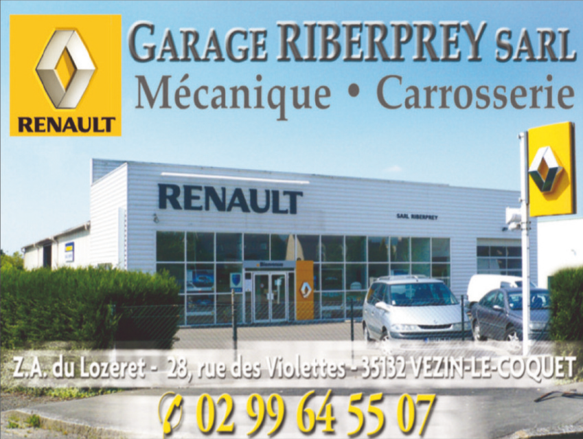 Partenaire garage renault riberprey vezin le coquet for Garage renault essey les nancy